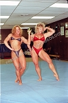 PP011VOD - Real Freestyle Mat Wrestling - featuring Kay Baxter and Jeanne Carson - Video Download